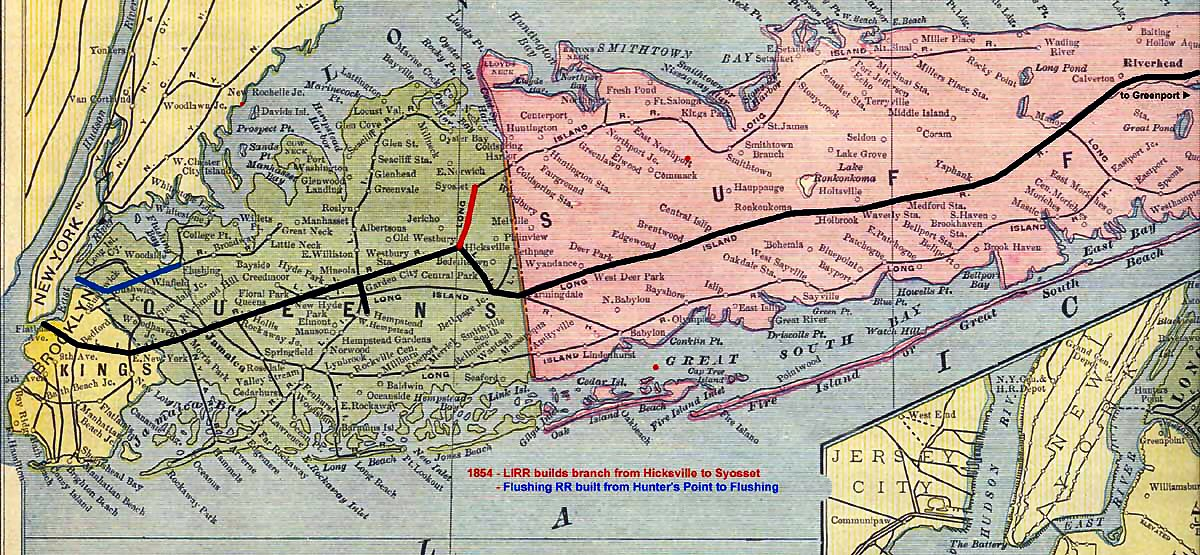 Long Island Railroad Expansion
